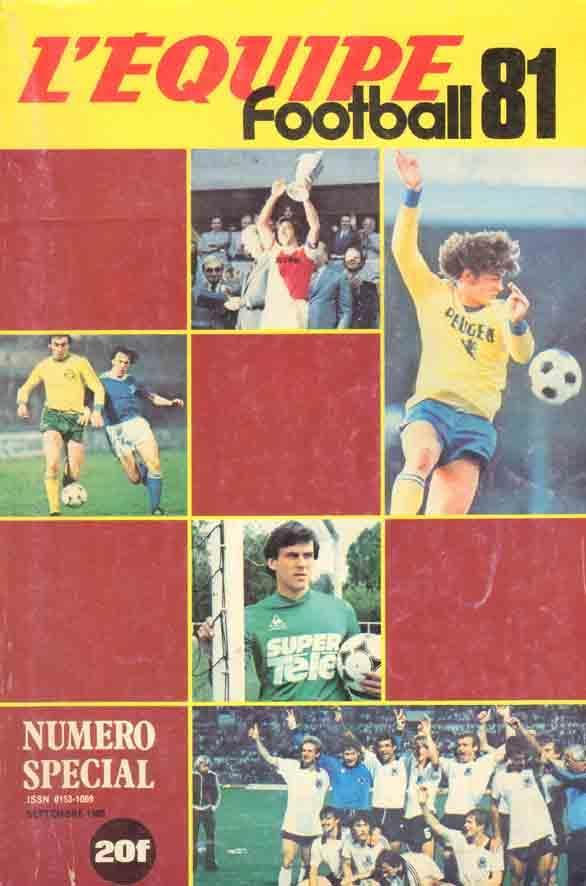 Football 81 Les Cahiers De L Equipe W Teamphotos D1 D2