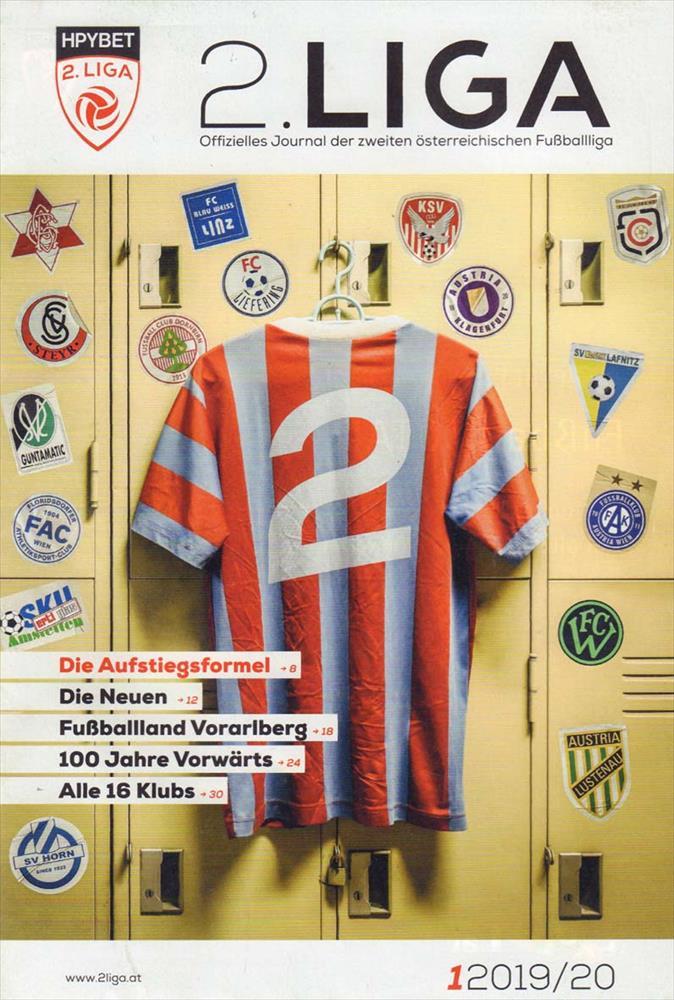 Guide Preview Austria Division Two 2 Liga 2019 2020 W Teamphotos