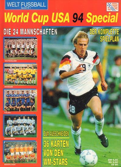 ; USA; remporté par le Brésil Coupe du monde 1994 Soccer Football Championship jeu de cartes 24