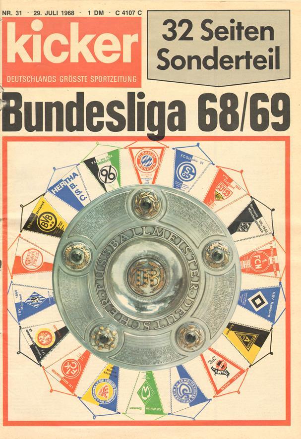 Bundesliga 68/ 69